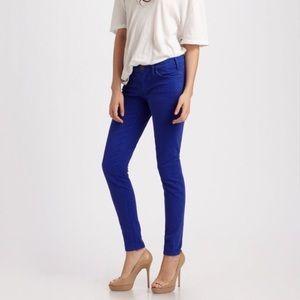 NWOT Current/Elliot Ankle Skinny Jeans Royal Blue